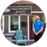 One of our famous realtors at Lake District Realty Corporation